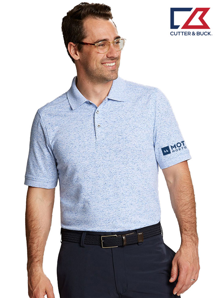 Cutter & Buck Men's Advantage Polo Space Dye
