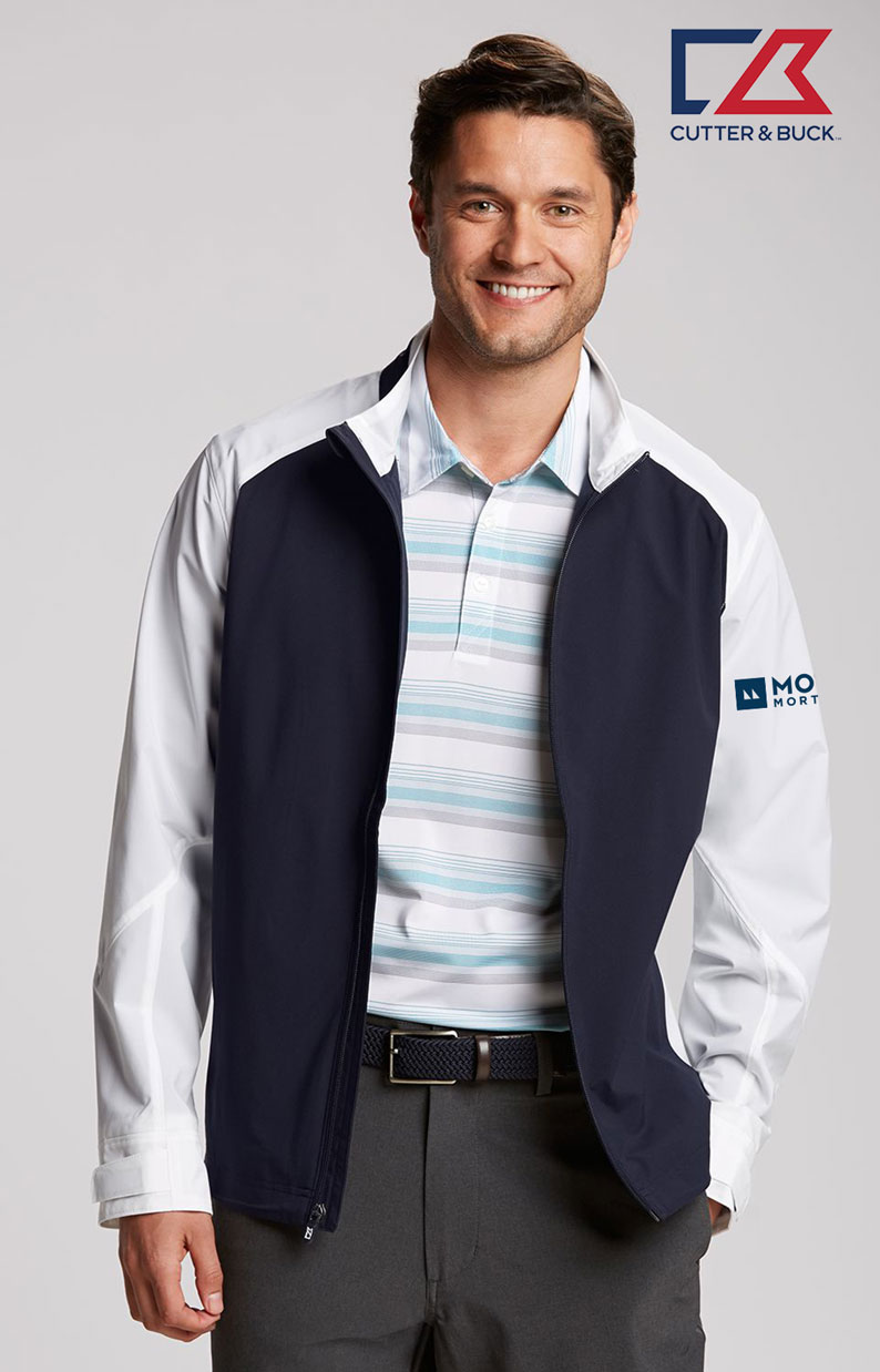 Cutter & Buck Men's Summit Full Zip Jacket