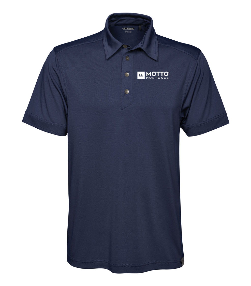 Men's OGIO® MICROSTRIPE POLO - MOTTO