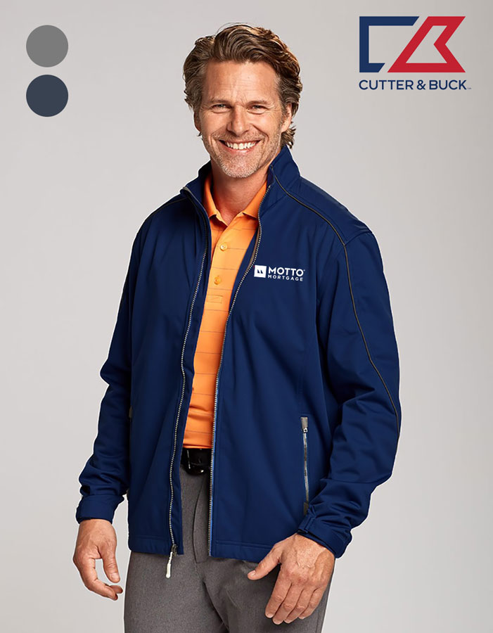 Cutter & Buck Men's CB WeatherTec Opening Day Softshell Jacket